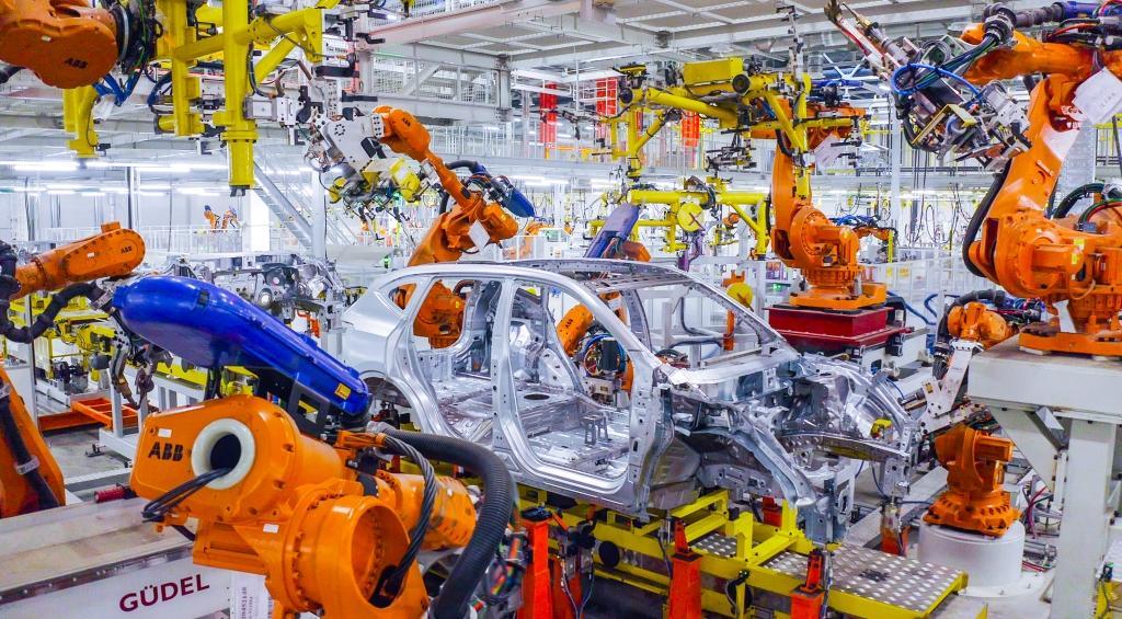 Новый автомобильный завод Haval оснащён роботизированными решениями ABB