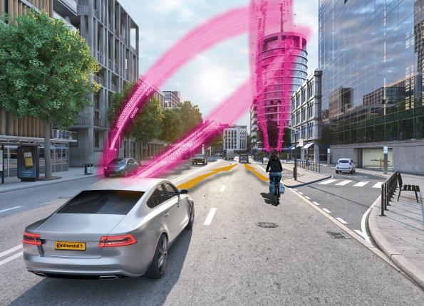 Сеть предупреждения о столкновениях защитит велосипедистов и пешеходов