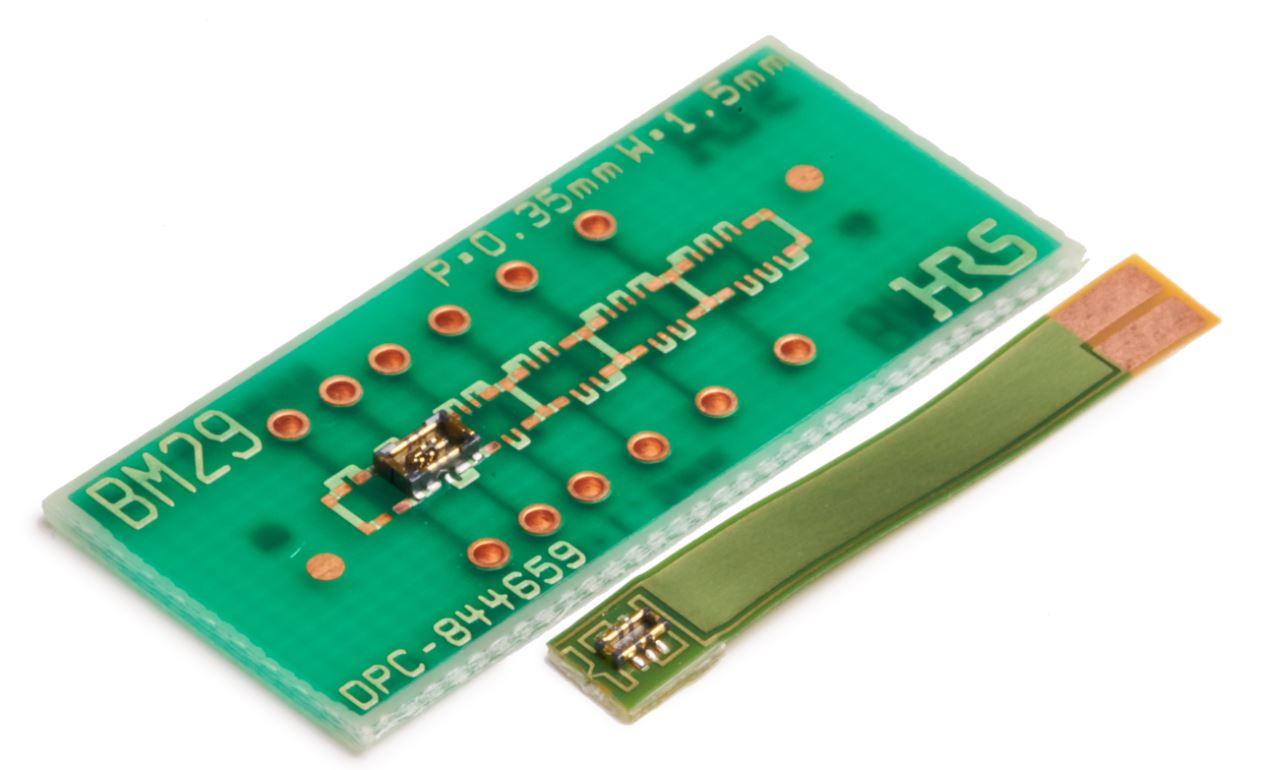 BM29 – семейство соединителей «FPC–плата» с шагом 0,35 мм