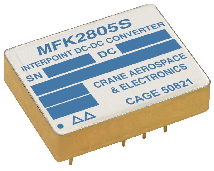 DC/DC-преобразователям Crane Aerospace & Electronics присвоены SMD-номера