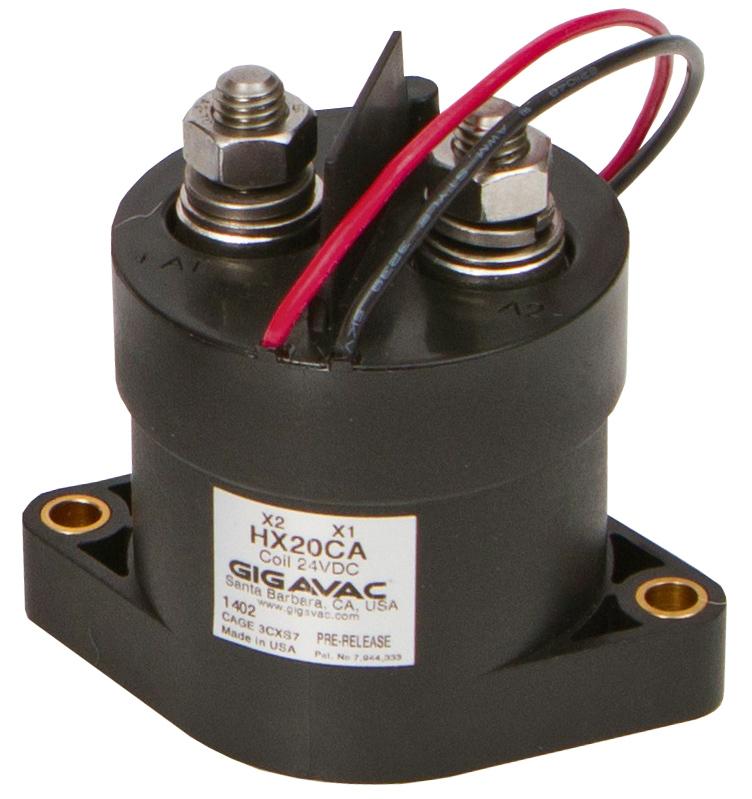 Новые контакторы, сертифицированные  UL/IEC для работы при 1500 В постоянного тока