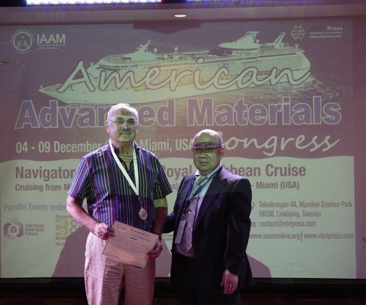 Доклад российского учёного получил награду на международной научной конференции