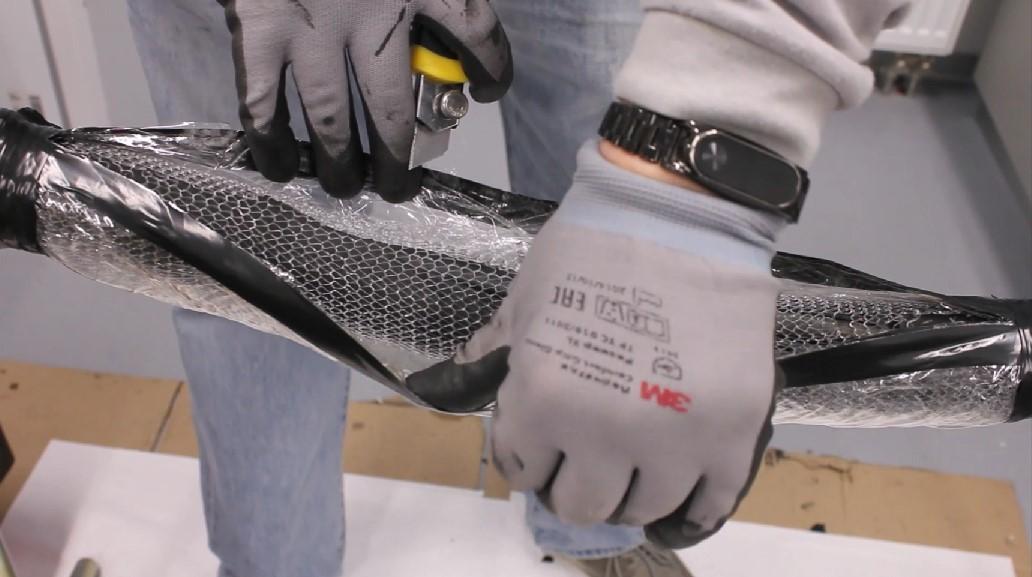 Новейшая технология ремонта гибкого кабеля