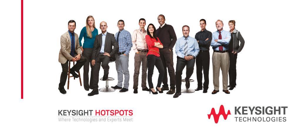 Семинары HOTSPOTS компании Keysight