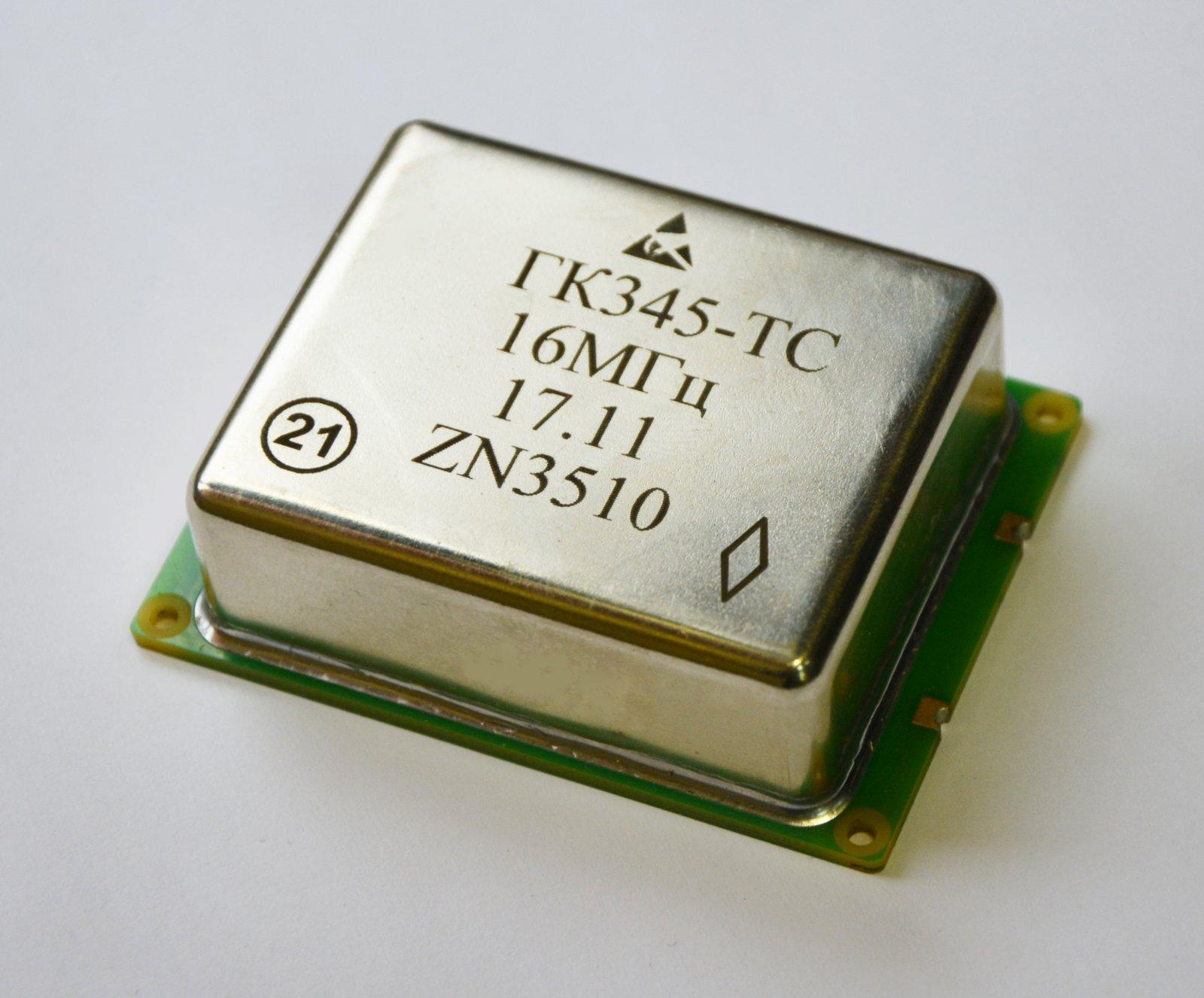 Прецизионный термостатированный кварцевый генератор ГК345-ТС