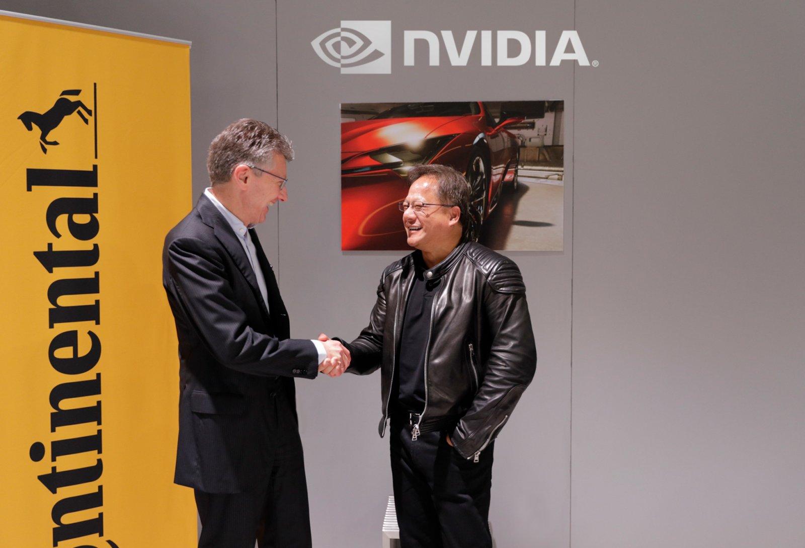Continental и NVIDIA организуют производство беспилотных автомобилей с ИИ