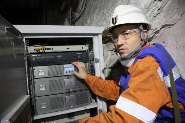 Росэлектроника разрабатывает радиосвязь для шахтного оборудования