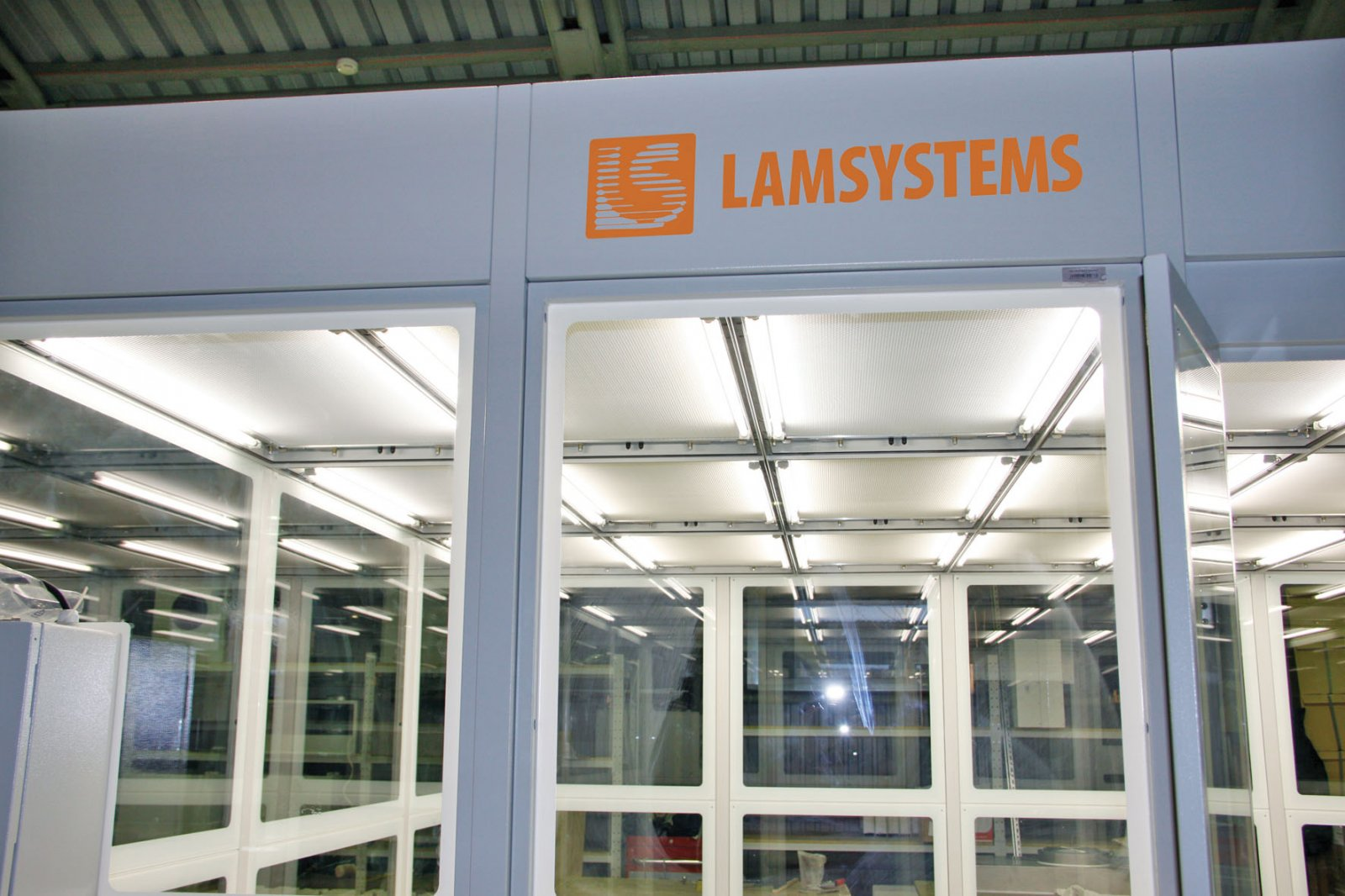Чистые зоны LAMSYSTEMS стали тише