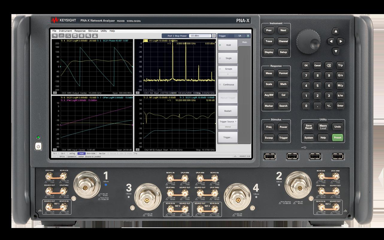 Новые анализаторы цепей Keysight с высокопроизводительными источниками сигналов упрощают и ускоряют проведение сложных измерений