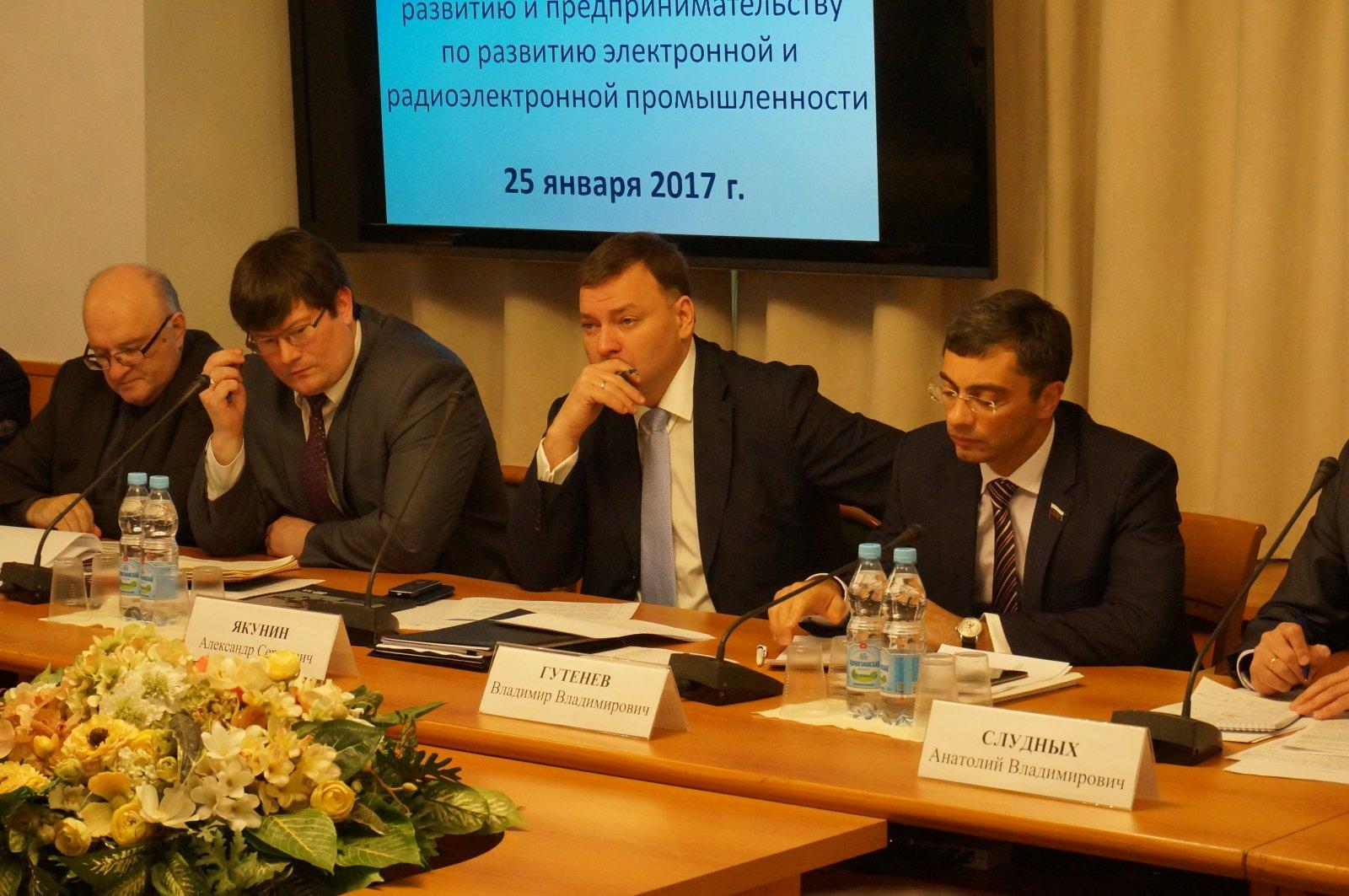 Первое заседание Экспертного совета по развитию радиоэлектронной промышленности