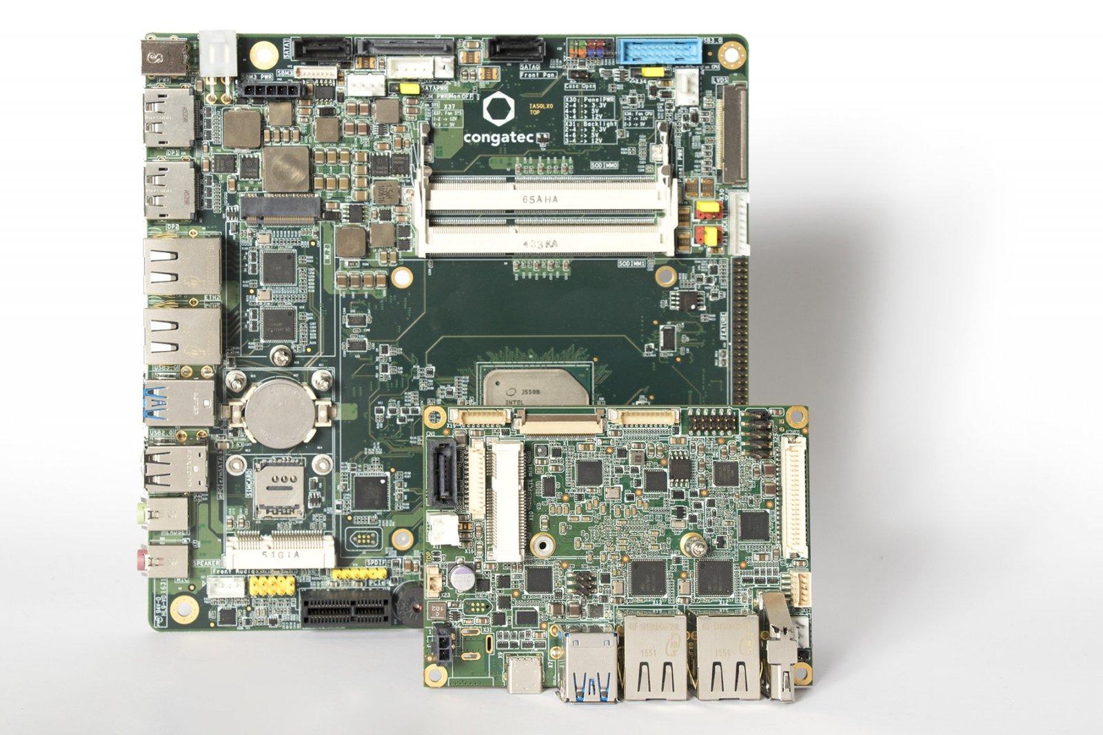 Новые платы Thin Mini-ITX и Pico-ITX с энергоэффективными процессорами Intel