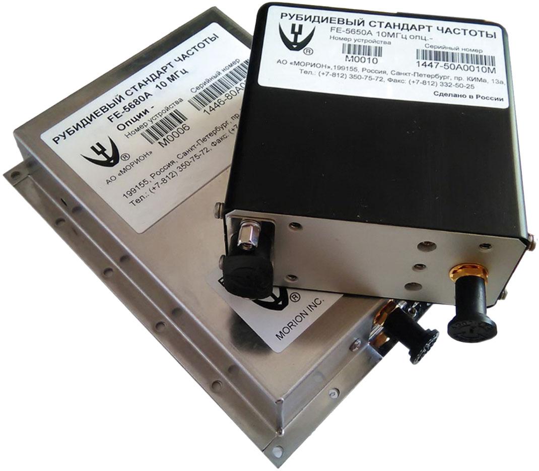 Рубидиевые генераторы частоты от АО «Морион»