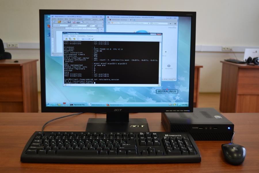 ОС Astra Linux заработала на процессорах «Эльбрус»
