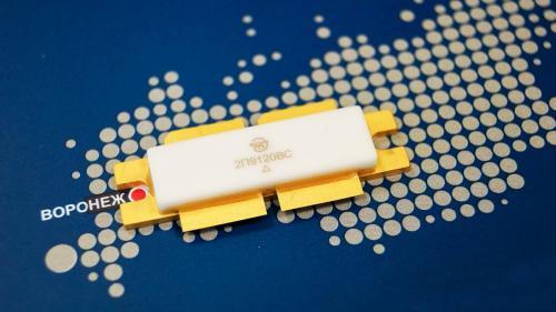 Самый мощный в РФ сверхвысокочастотный кремниевый транзистор