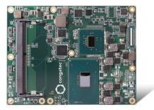 Новые модули Com Express компании congatec с процессорами Intel Xeon и графикой Intel Iris Pro