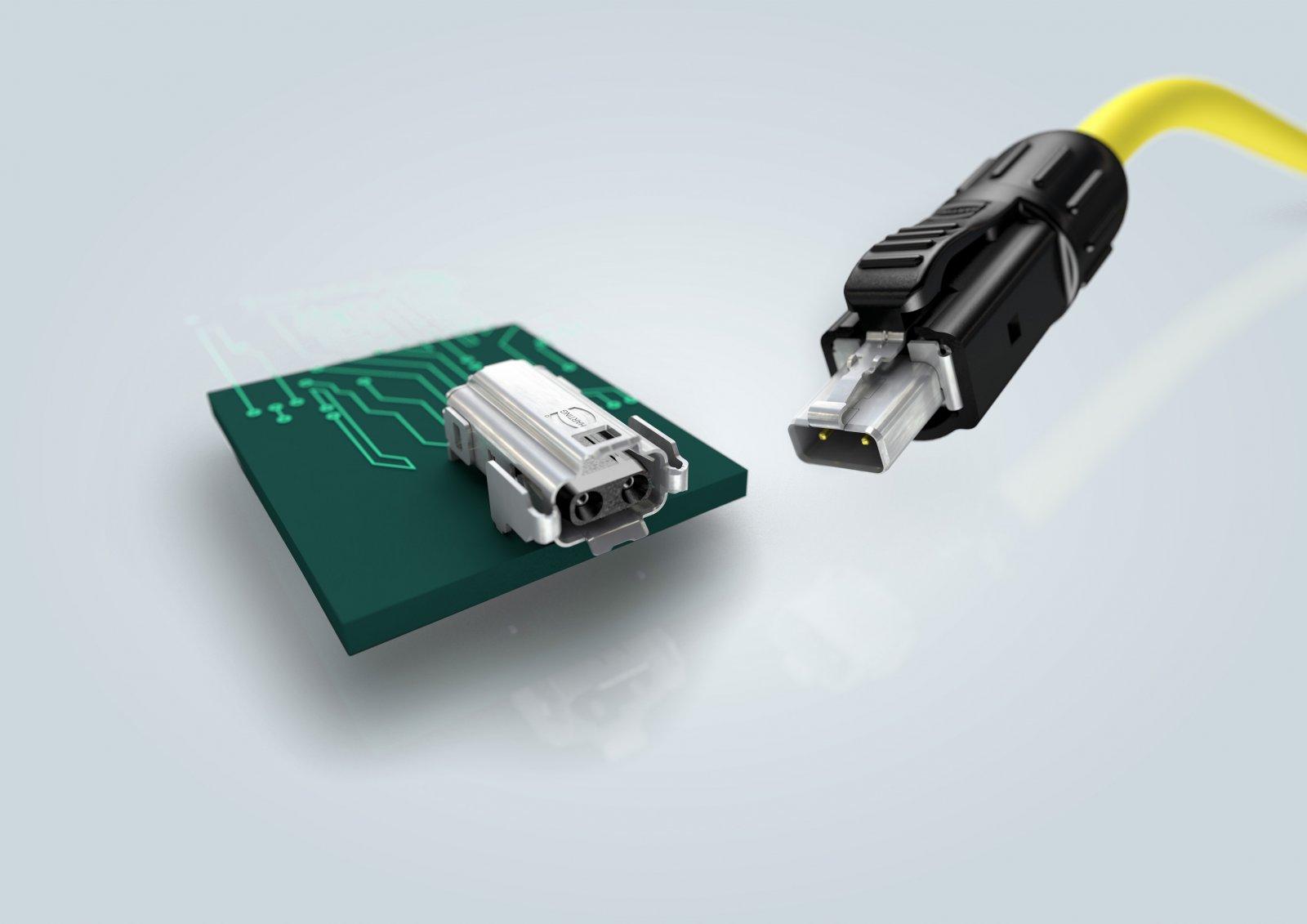 Соединитель HARTING T1 Industrial для технологии SPE был удостоен награды German Innovation Award 2020