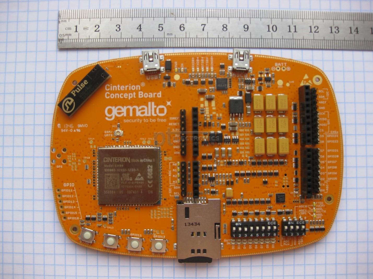 Gemalto запустила универсальный модуль IoT «всё в одном»