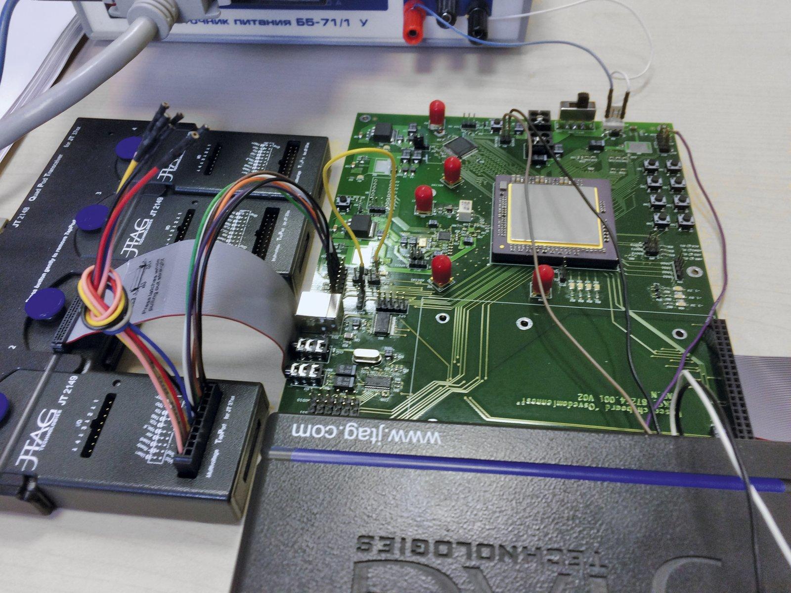 JTAG Technologies представляет видеоотчёт по работе с микросборкой «Осведомлённость»