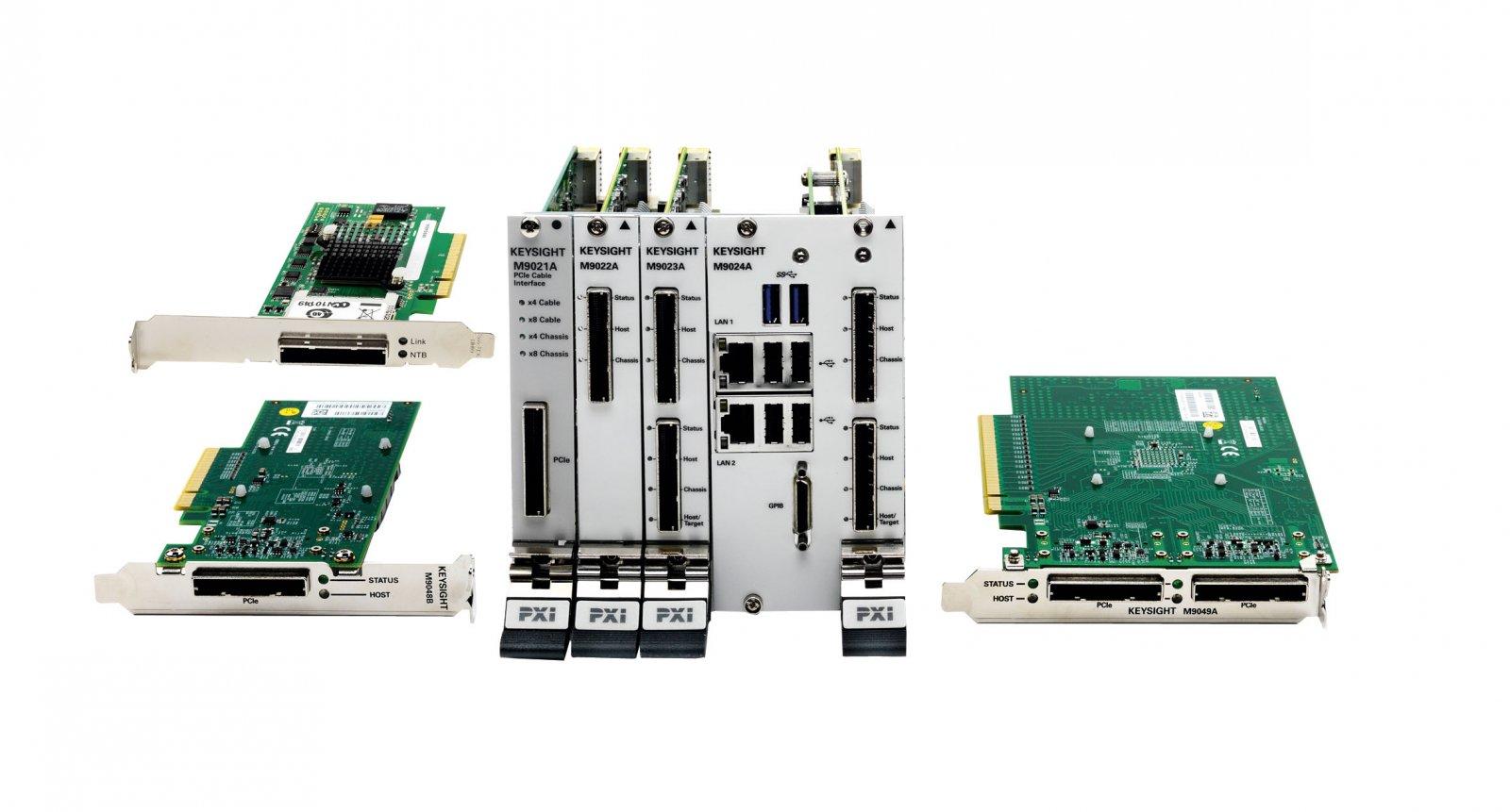 Keysight Technologies представила шасси  и системные компоненты  в формате Gen 3 PXIe