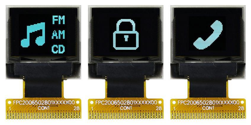 """OLED-дисплеи 0,66"""" для портативного оборудования"""