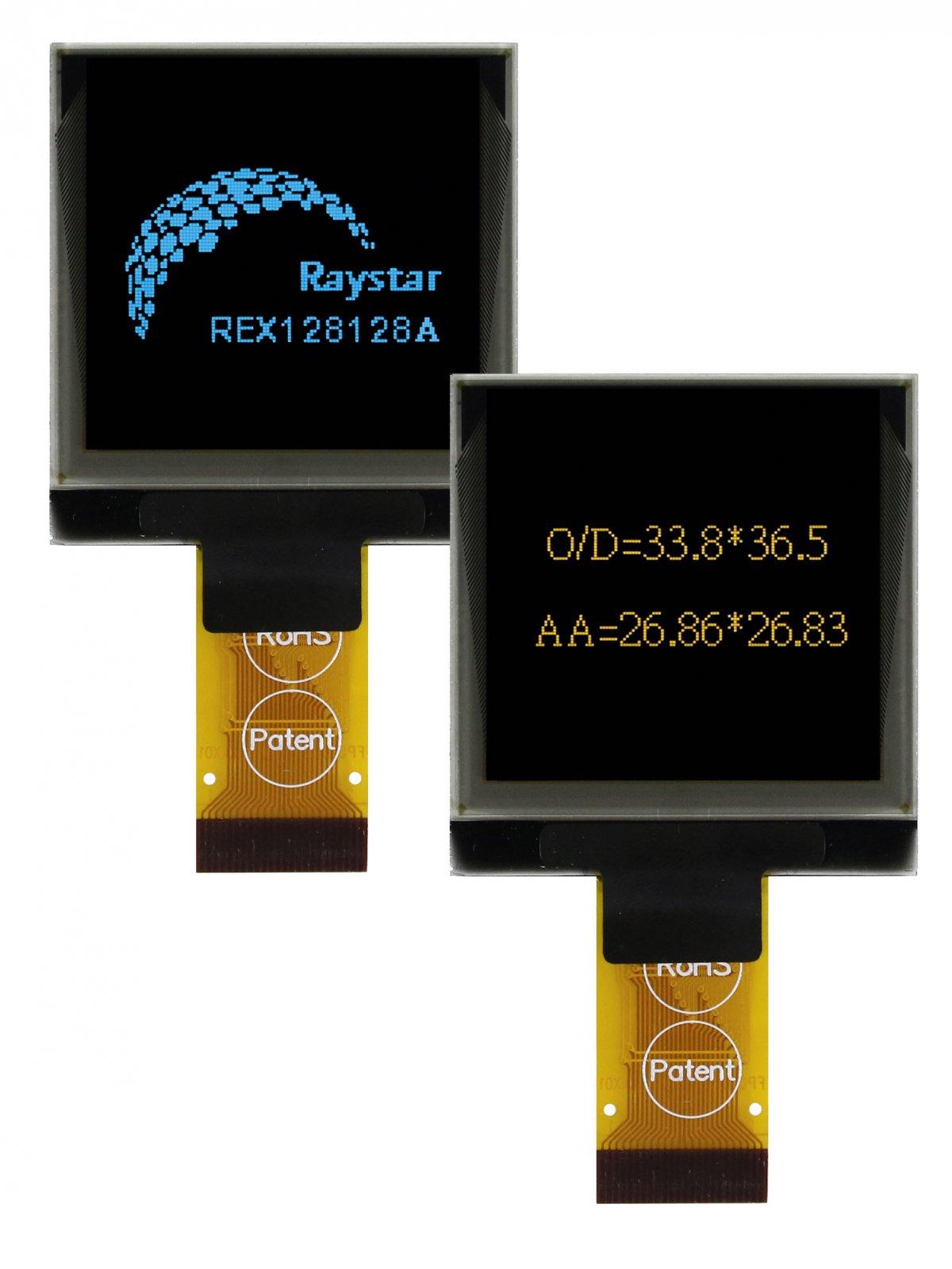 OLED-дисплей с размером экрана 1,5″ для мобильных приложений