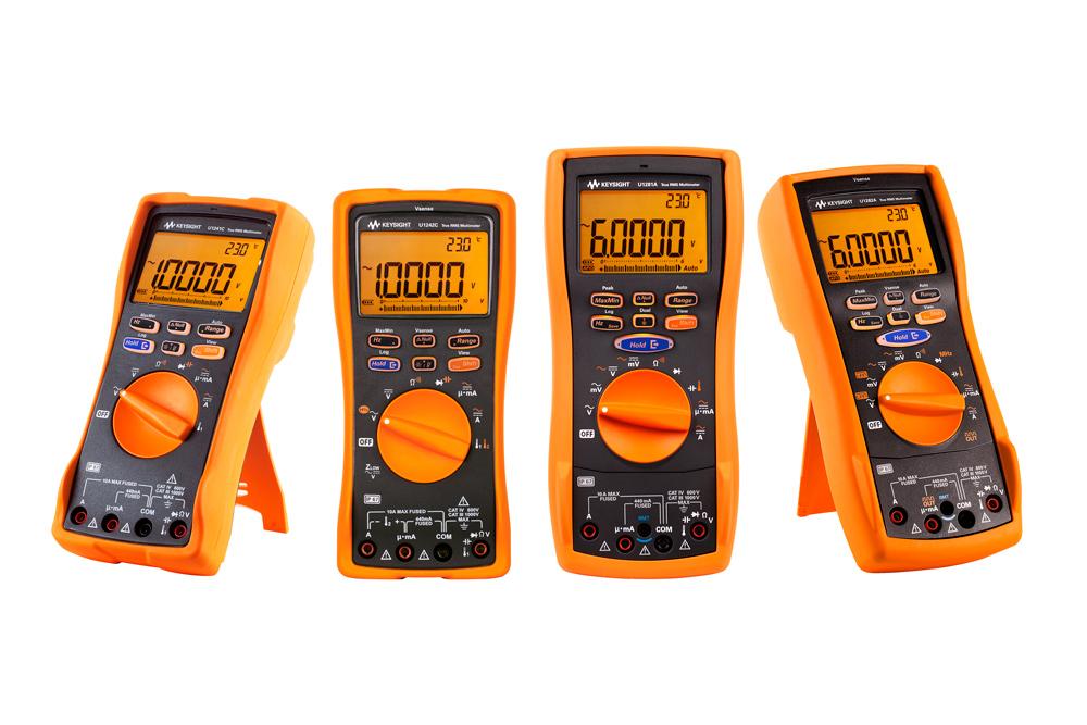 Ручные мультиметры Keysight серий U1240C и U1280A внесены в Госреестр СИ РФ