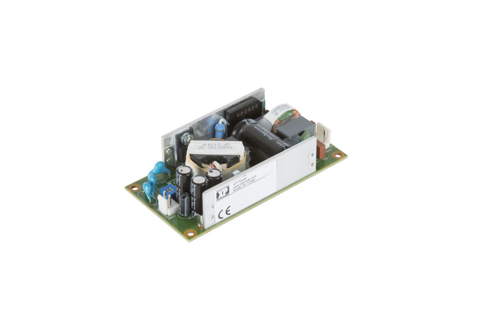 40/60-Вт AC/DC для применения в ИТ и медицинской аппаратуре