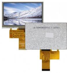 TFT-дисплейные модули с унифицированным 40-контактным плоским соединителем