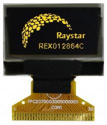 """0,96"""" графический OLED-дисплей REX012864С с разнообразными интерфейсами"""